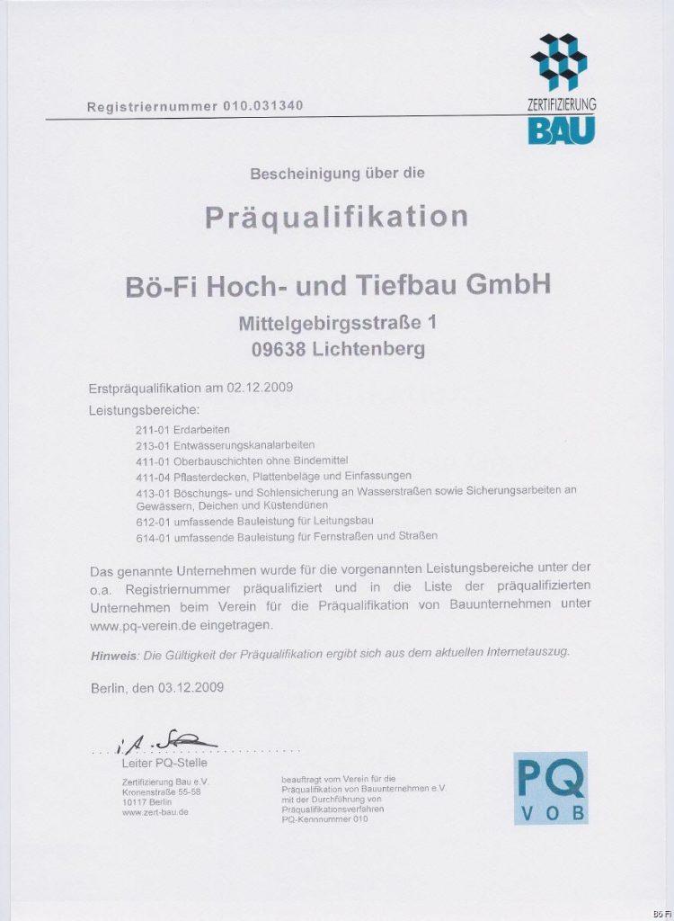 Bö-Fi Hoch- und Tiefbau GmbH